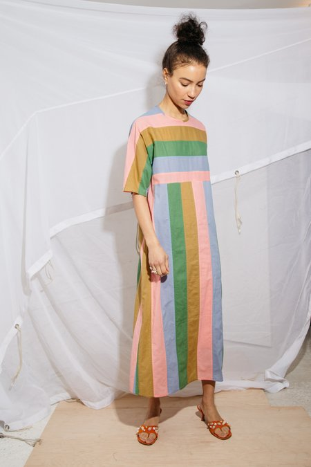 Nikki Chasin ARNO DRESS - CORNFLOWER MULTI