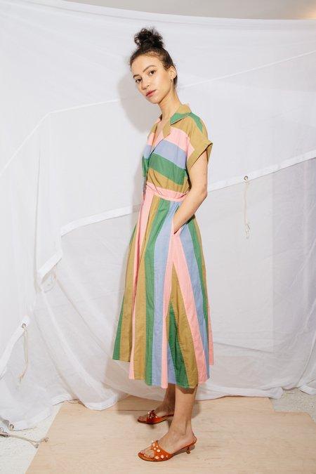 Nikki Chasin RALLY DRESS - CORNFLOWER MULTI