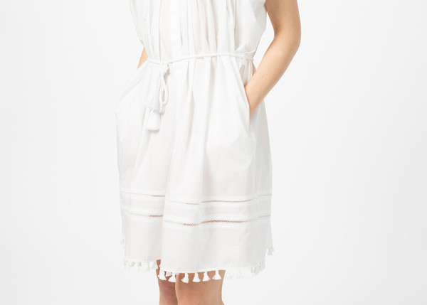 NICO Nostalgia Dress - White