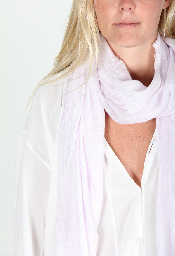 FALIERO SARTI PLACY SCARF - LIGHT PINK