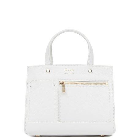 OAD Mini Pocket Tote - Bright White