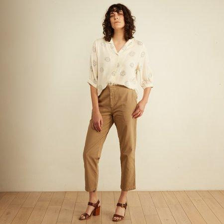CQY Denim Miller Trouser - Khaki