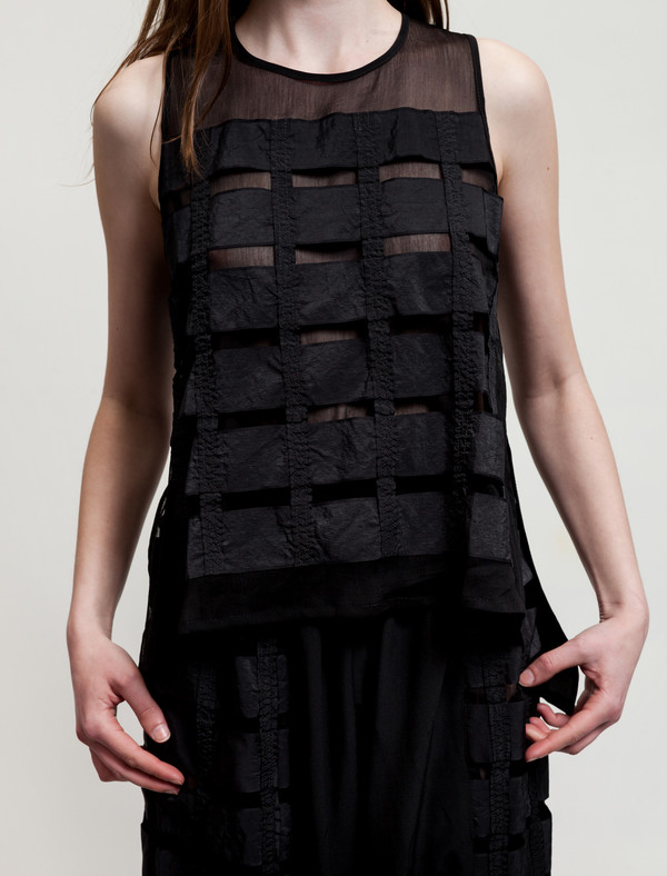 Christopher Raeburn Remade Airbrake Vest Black