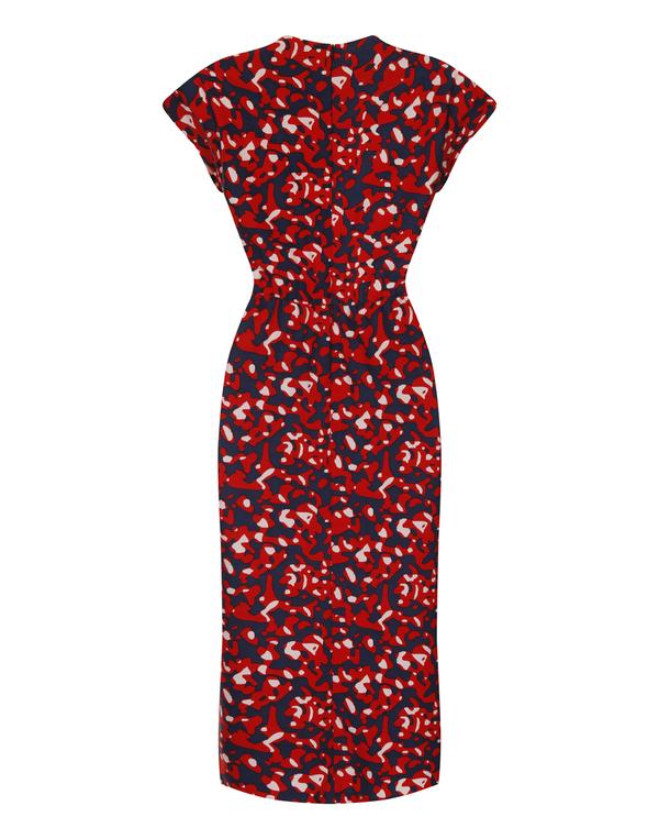 Apiece Apart Tilda Static Print Dress