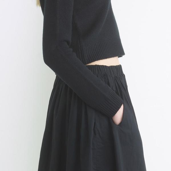 Organic by John Patrick Frida skirt - Black