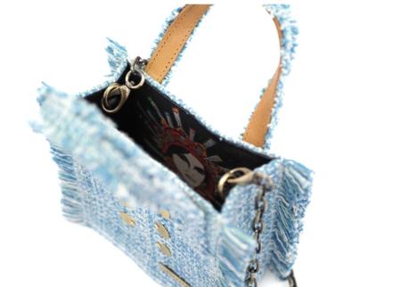 Kooreloo Epiphany Tote - Aquamarine