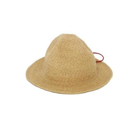 Mad Factory Sublime BRAIDED WATERPROOF BEACH HAT - NATURAL