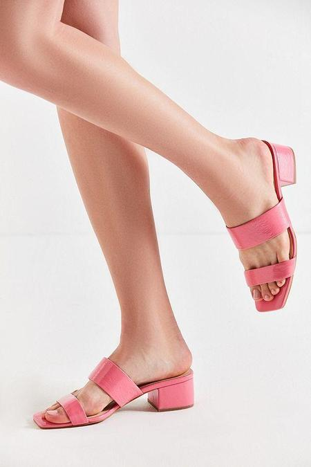 """""""INTENTIONALLY __________."""" SCAMP SANDAL - Pink Patent"""