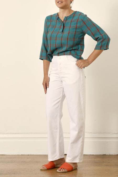 Nili Lotan Toledo Pant - Vintage White