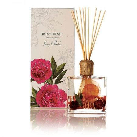 Rosy Rings Botanical Reed Diffuser - Peony & Pomelo