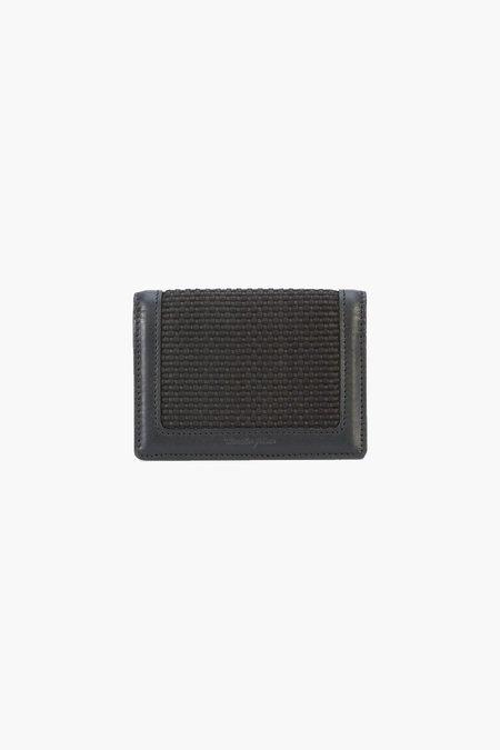 MASTER-PIECE Nishijin Card Case - Black