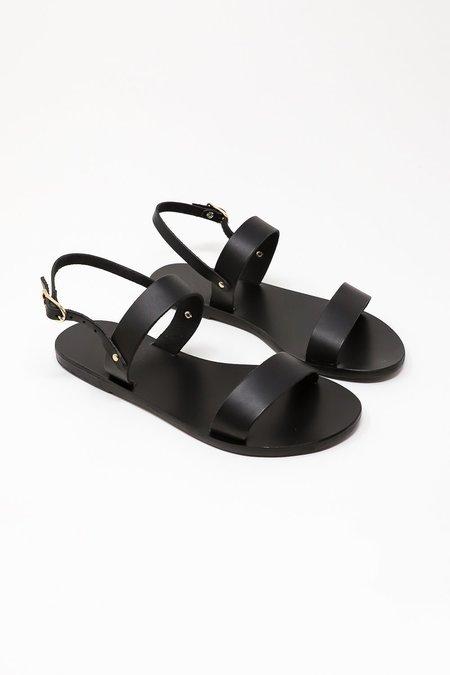 Ancient Greek Sandals Clio Sandal - Black