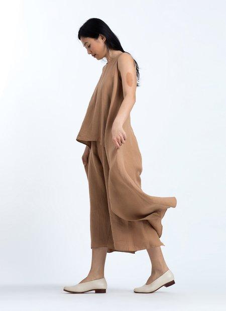 KAAREM Ketel Layered Onesie - Brown Sand