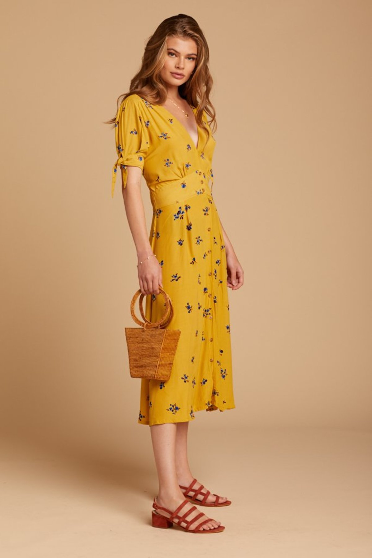 efb1905de5b4 Faithfull The Brand Billie Dress - Dolores Floral | Garmentory