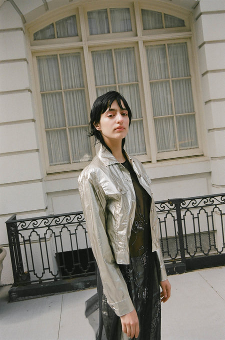 a57fca762 Outerwear in Metallic from Indie Boutiques: New Arrivals | Garmentory