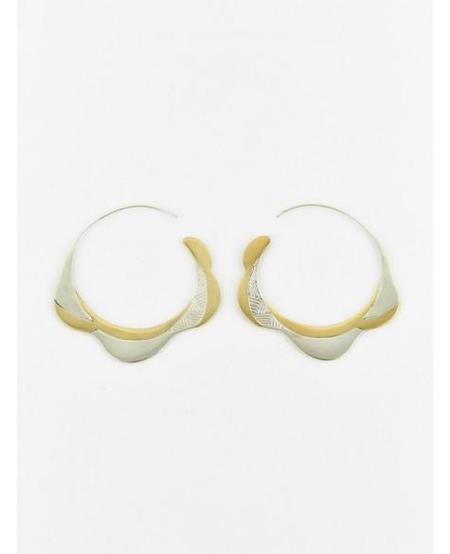 Ombre Claire Dune Hook Earrings