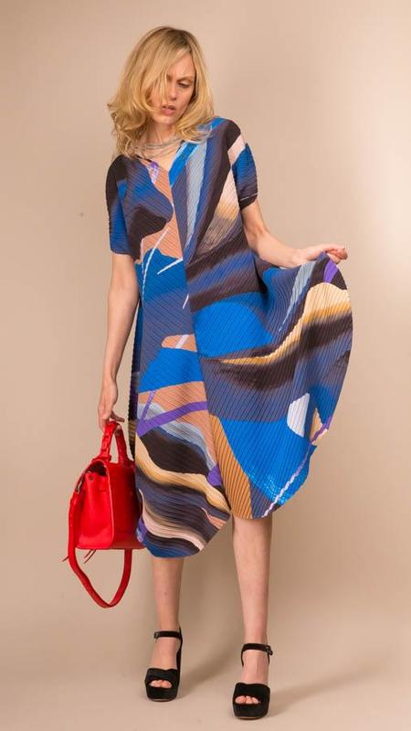 Issey Miyake Bloom Pleats Dress
