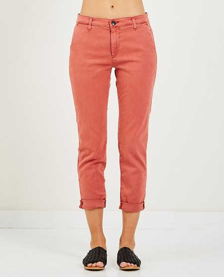 AG Jeans CADEN CHINO SULFUR - MAHOGANY RED
