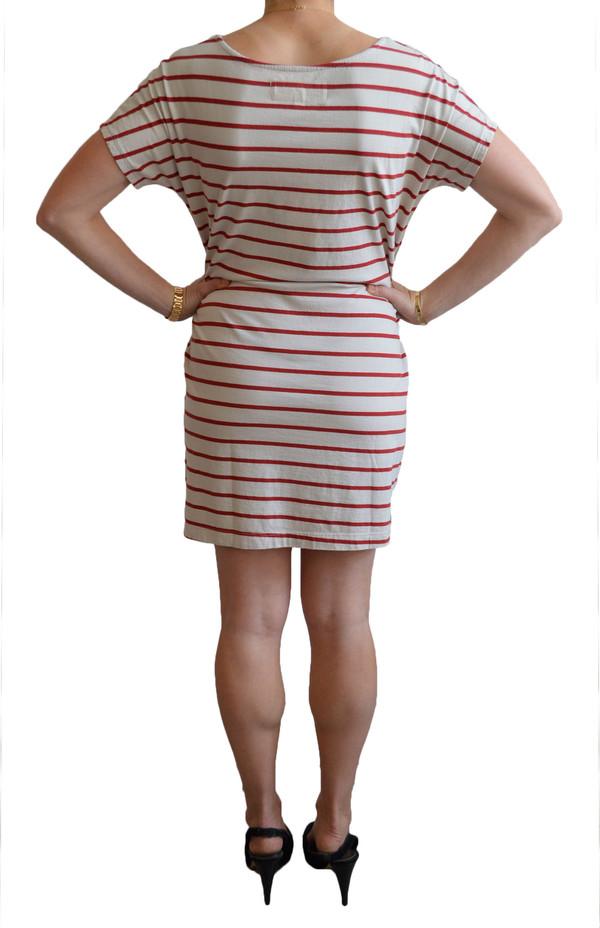Mollusk Stripe Mini Dress