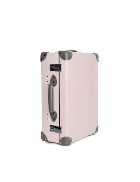 "Globe Trotter Emilia 18"" Trolley Case - Pink/Grey"