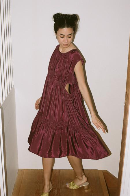 Caron Callahan Timora Dress - Magenta