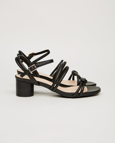 Shoe the Bear AYA KNOT SANDAL - black