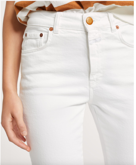 CLOSED Glow Denim - white