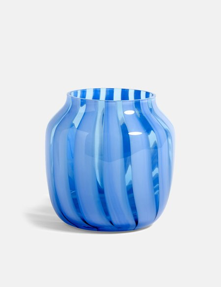 Hay Juice Wide Vase - Light Blue