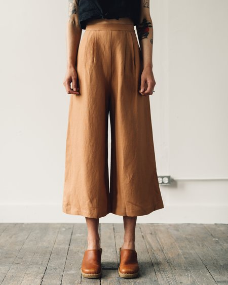 First Rite Crop Culotte - Sahara