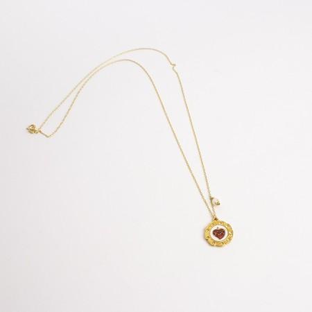coup de foudre collection elizabeth necklace - gold