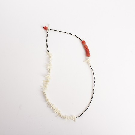 Nairobi Collection Lulu Necklace with white corals