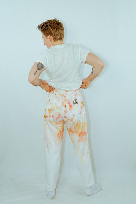 Absorka ice dyed denim pants