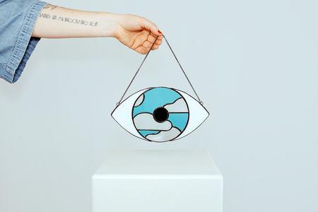 Nicole Lahy magritte eye