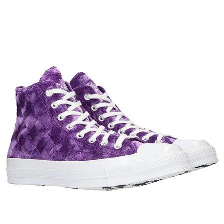 Converse Golf Le Fleur Chuck 70 Crushed Velvet - Tillandsia Purple