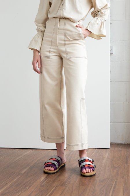 Bonnie Fechter Miami Trouser - White