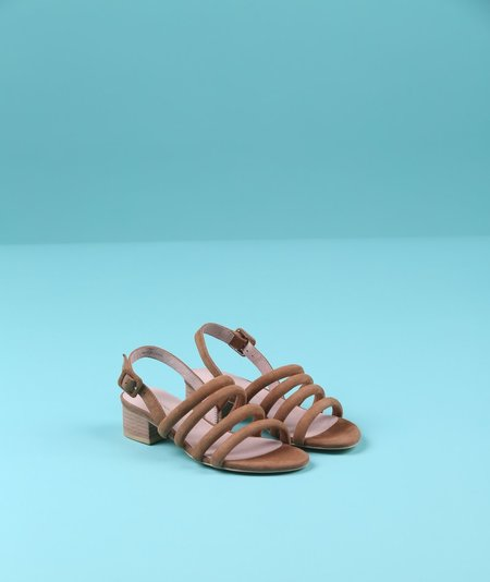 """INTENTIONALLY __________."" Helda Sandals"