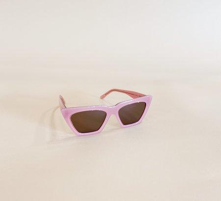 Unisex Carla Colour Modan Sunglasses - Aurora/Dust