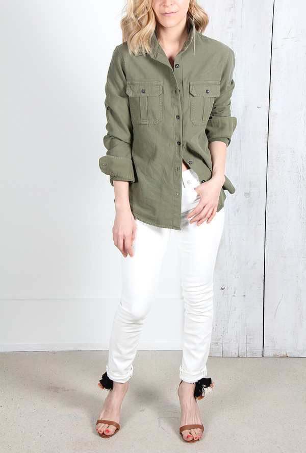 Rag & Bone UTILITY BUTTON UP SHIRT