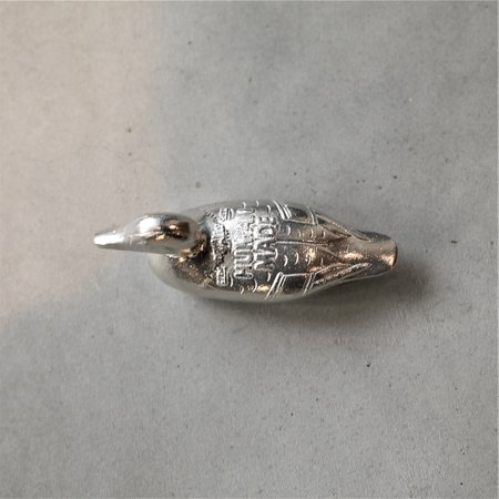 Human Made Duck Paper Weight - Silver