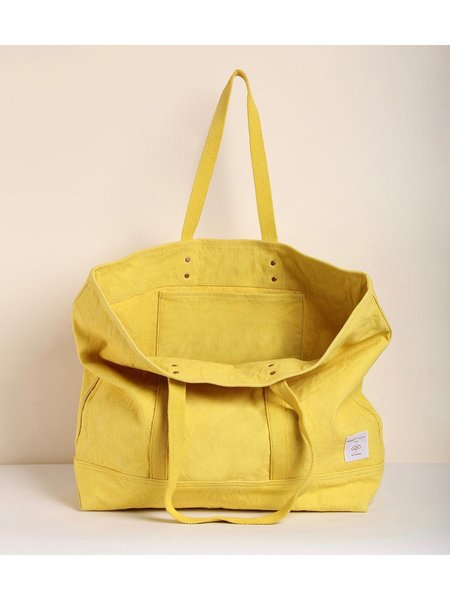 IMMODEST COTTON East West Tote - Sun Yellow