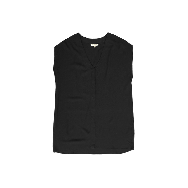 Ali Golden BUTTON-DOWN SHIRT - BLACK