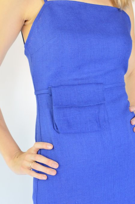 Paloma Wool museo dress - intense blue