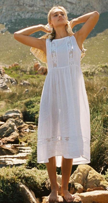 Auguste the Label Margot Wren Dress - White