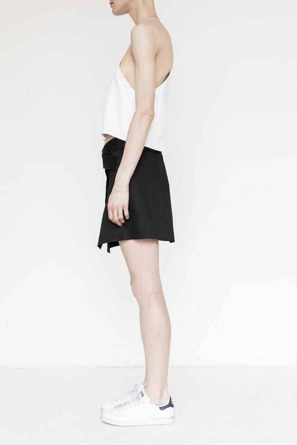 Index Cotton Wrap Skirt