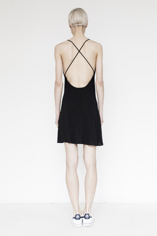 Assembly Crepe Deep Camisole