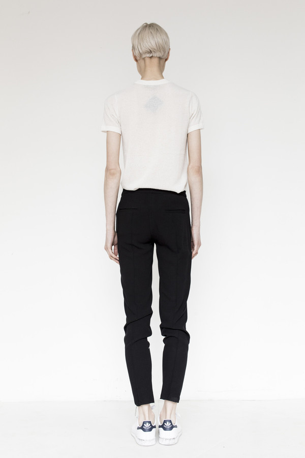 Assembly Crepe Pintuck Pant