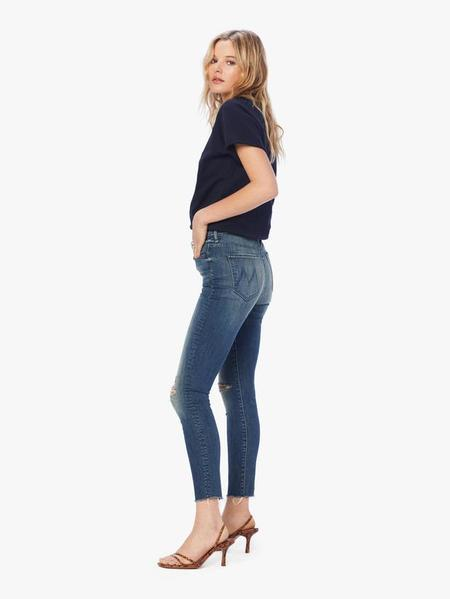Mother Denim Mother The Stunner Ankle Fray - Field of Dreams