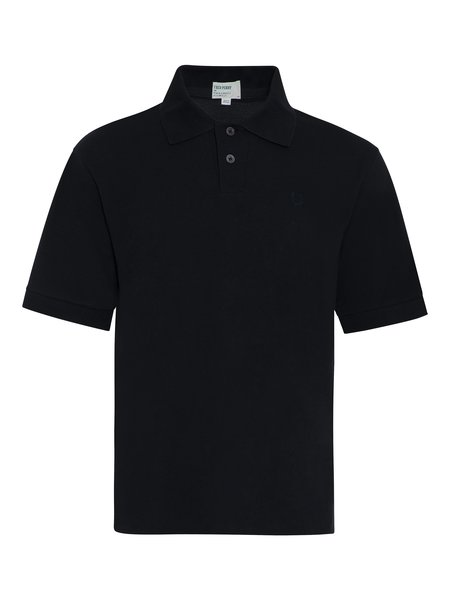 Fred Perry x Margaret Howell Pique Shirt - Black