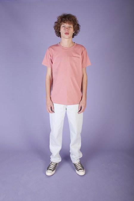 L.F.Markey Nullo Tee - Dirty Pink