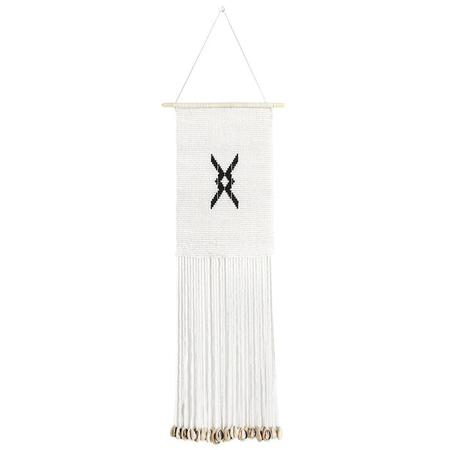 Sidai Designs Medium Diamond Wall Hanging - Black/White